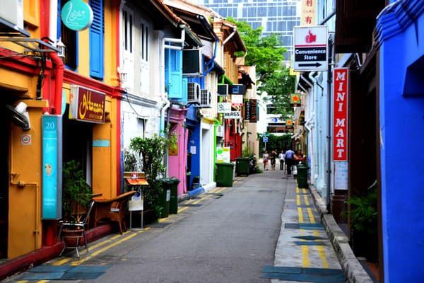 Haji Lane, Singapur