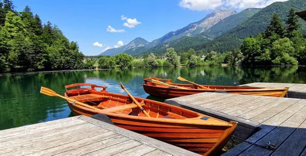 Preddvor, člnkovanie na jazere