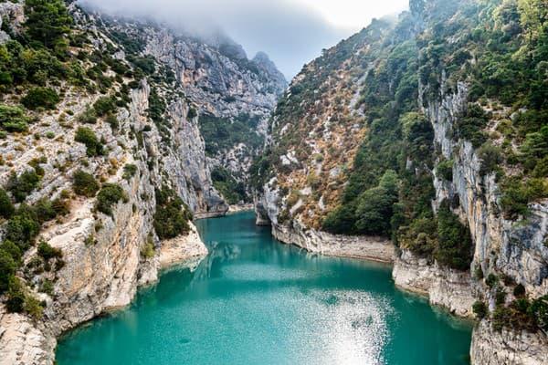 Verdonský kaňon, Francúzsko