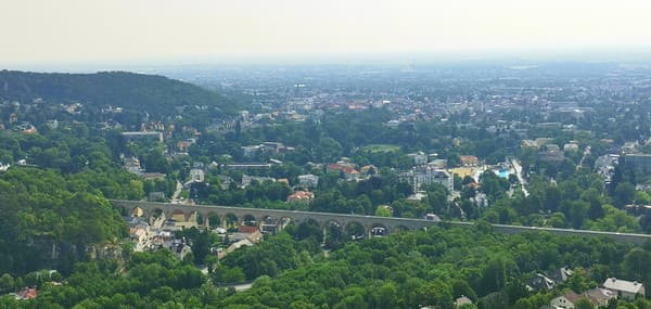 Pohľad na Baden z