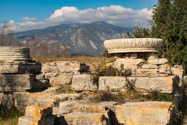Chrám bohyne Héry, Samos