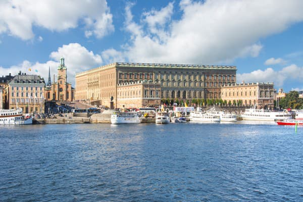 Kráľovský palác v Štokholme