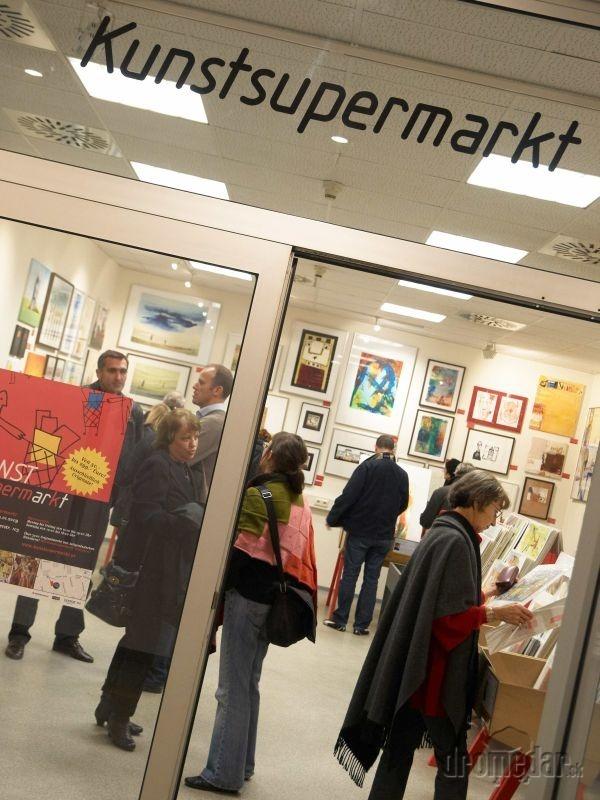 Zavítajte na umelecký supermarket