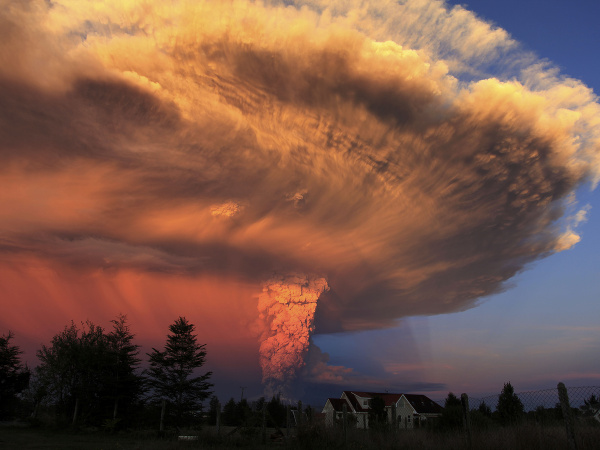 Sopečný oblak