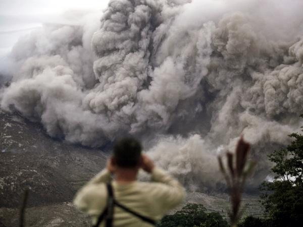 Príroda ukázala v Indonézii svoju silu