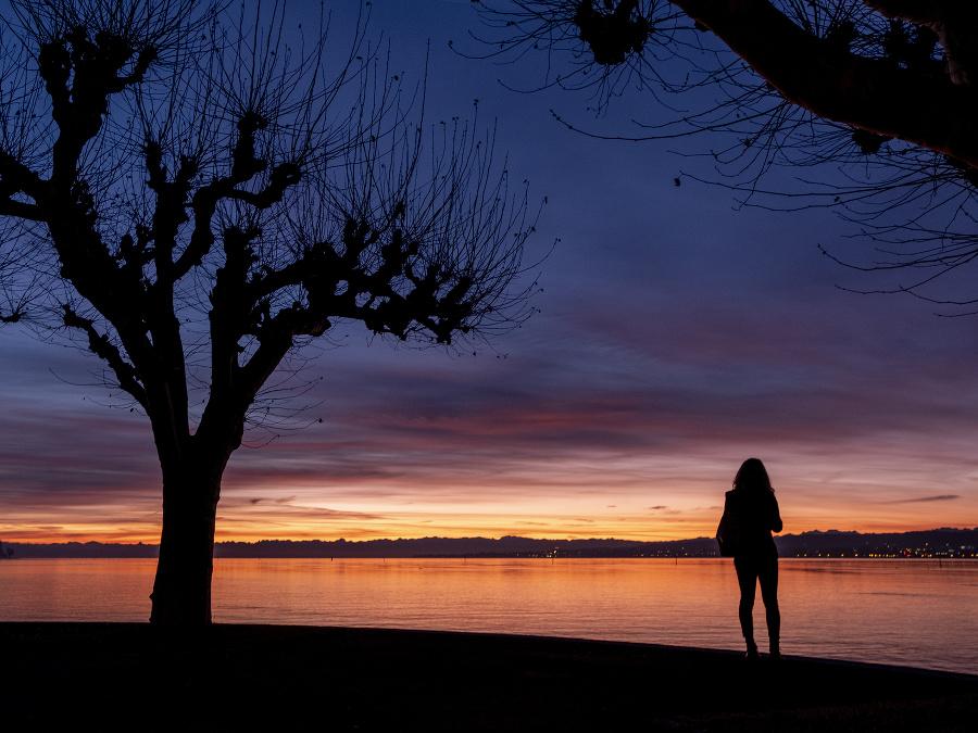 Rozprávkový východ slnka