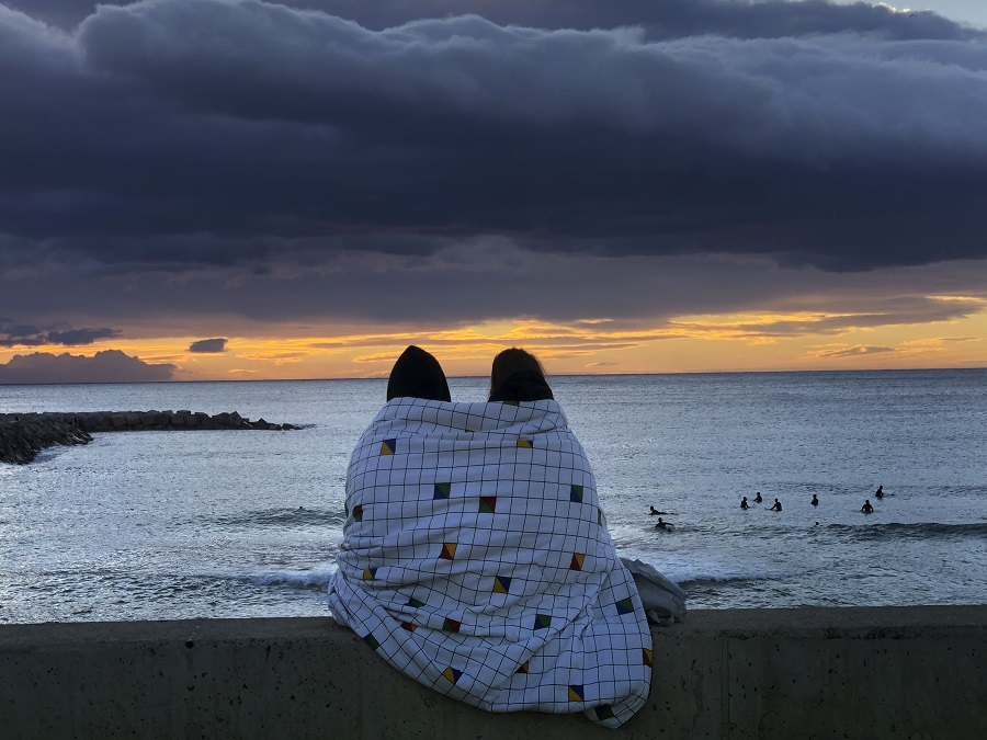 Romantika pri východe Slnka