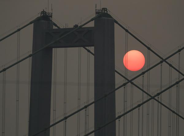 Prekrásny západ slnka
