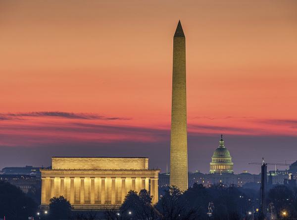 Pohľad na Washington