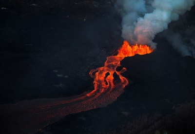 Láva sopky Kilauea