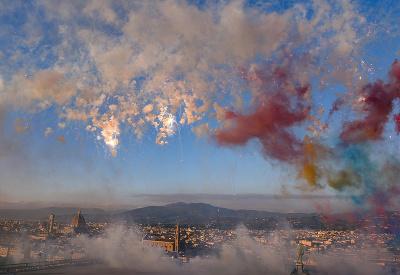Mesto kvetov na oblohe