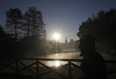 Pohľad na východ slnka nikdy neomrzí