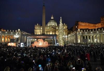 Vianoce vo Vatikáne