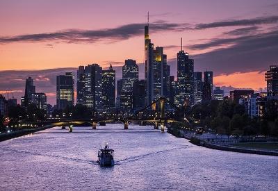 Jeseň vo Frankfurte nad Mohanom