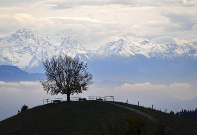Dych vyrážajúce hory