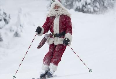 Santa je už na ceste