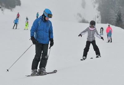Poriadna slovenská lyžovačka