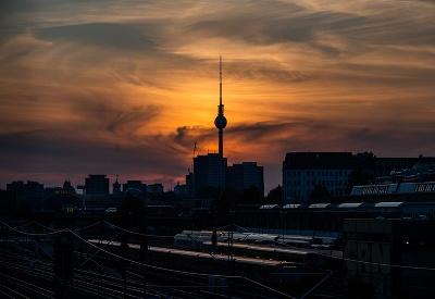 Čarovný západ slnka