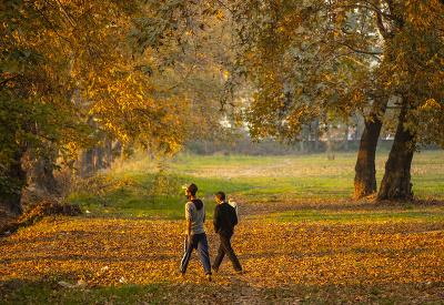 Jesenná prechádzka