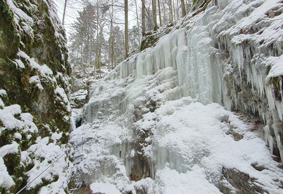 Zimný ferratový raj