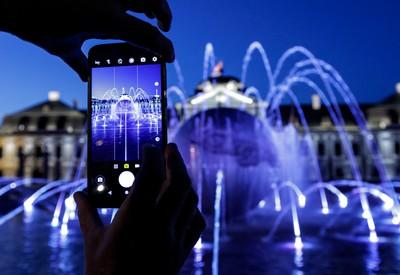Potešenie z fontány