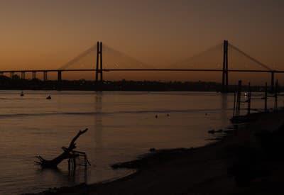 Západ slnka v Argentíne