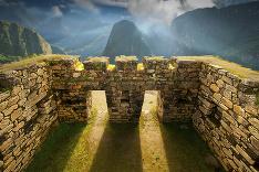 Strmé výšky peruánskeho Pachu Picchu