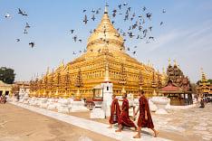 Pagoda v mjanmarskom Bagane