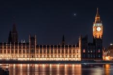Westminsterský palác a Big Ben v Londýne