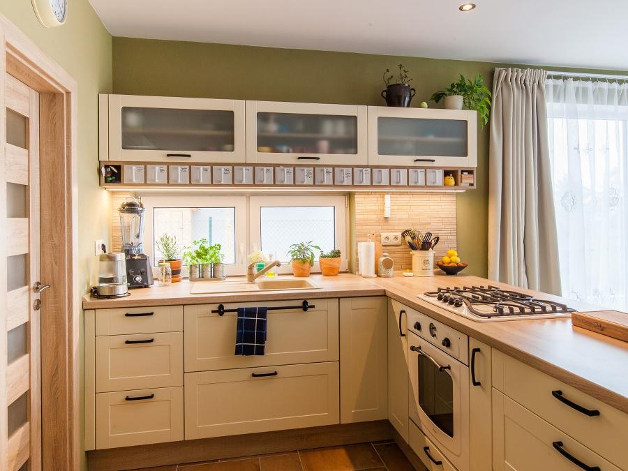Vydarená premena kuchyne