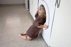 Hlava v práčke