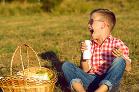Jesenný hruškový piknik