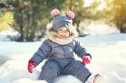 Myška v snehu
