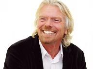 Richard Branson, šéf Virgin