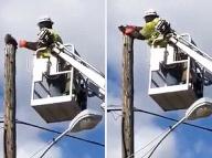 Muž zachránil v práci
