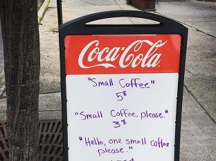 Majiteľ kaviarne vypiekol s