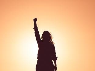 silná žena, mentálne, duševne