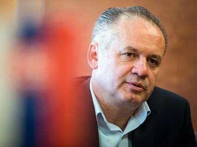 Andrej Kiska, prezident SR