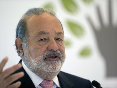 Carlos Slim, mexický miliardár