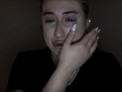 Rozplakala sa, lebo nechce
