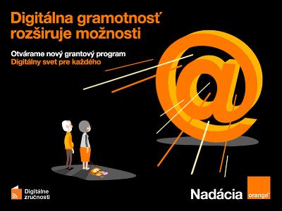 Grantový program Digitálny svet