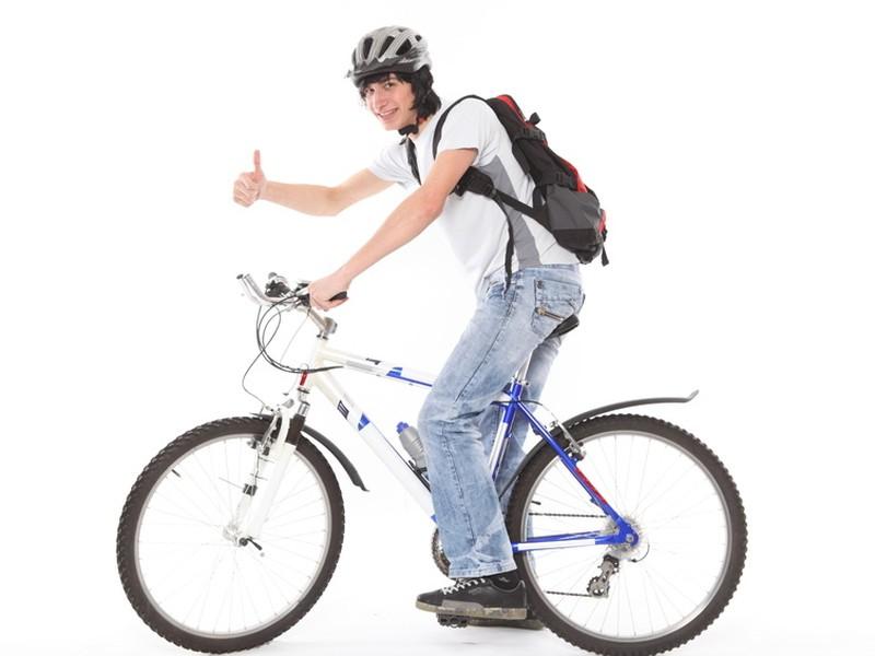 Jednou z možností, ako sa dopraviť do práce je bicykel.