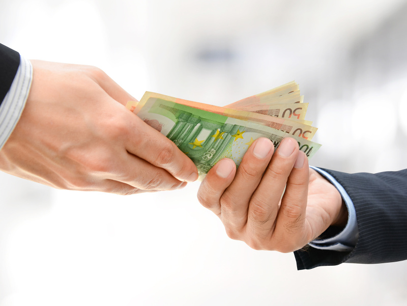 peniaze, hotovosť