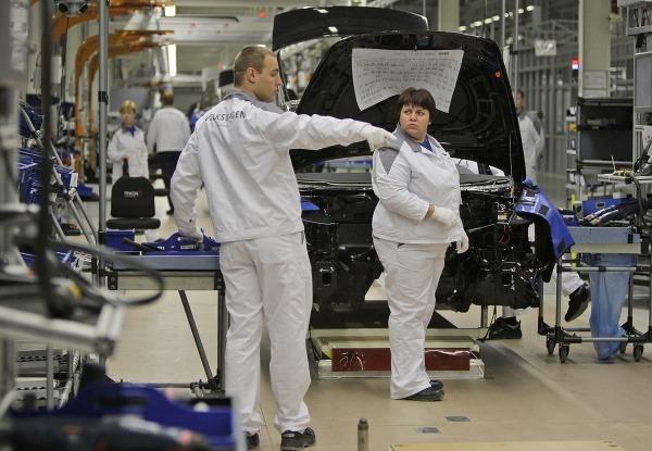 Závod spoločnosti Volkswagen v