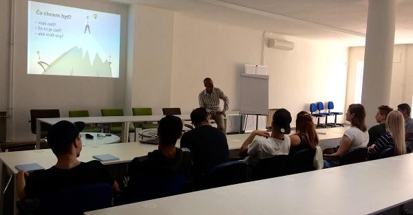 Ľubomír Dranga na prezentácii