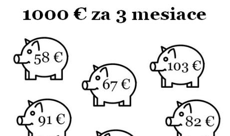 1 000 eur za