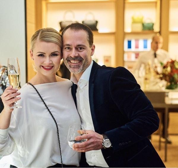 Marcel Gajdoš s manželkou.