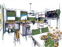 V kuchynskom štúdiu vám