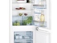 Zabudovateľná kombinovaná chladničku AEG