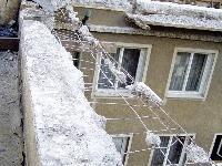 Búračka betónového venca po